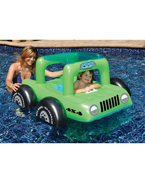SwimSportz Pool Buggy -  Swimming Pool Baby Seat / Float / Ride-On / Toy