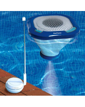 Pool Tunes Wireless Floating Speaker for iPhone, iPod, Android, mp3 player