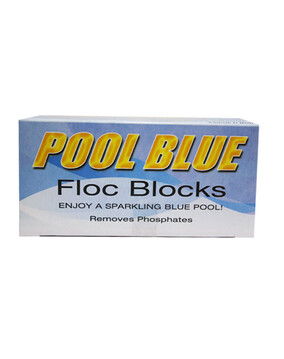 Pool Blue Floc Blocks 2-Pack - Pool Flocculant / Clarifying Pool Chemical