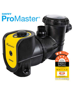 Davey ProMaster VSD Energy Efficient Pool Pump 8 Star Rated