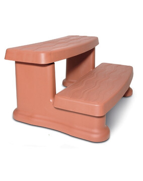 Spa Side Step Redwood MSS040 - Spa Accessories