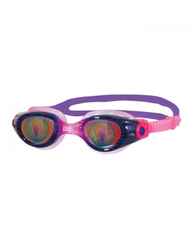 Zoggs Sea Demon Pink/Purple Junior Goggles Suitable for Ages 6-14 Year Olds