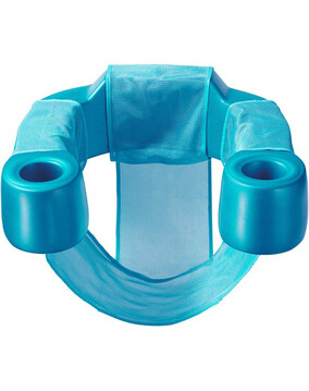 Aquaria Sling Swimming Pool Chair / Lounge Teal  (Premium Aqua Cell Foam Technology)