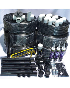 38m2 DIY Auto Solar Pool Heating Kit