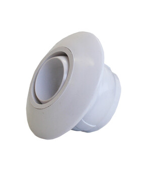Spa Electrics Eyeball Push in SE701 WHITE (CONCRETE) 40mm