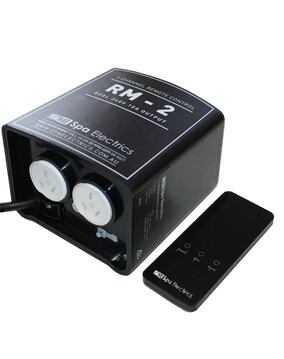 Spa Electrics RM-2 Remote Control Unit for Pool & Spa Lights
