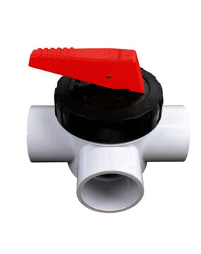 Spa Quip 3 way valve 50mm