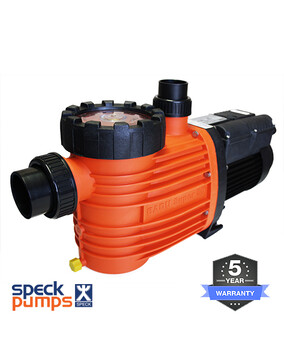 Speck Pro 500 Pool Pump, 2.0HP 500lpm 1.5kW 5Y Warranty