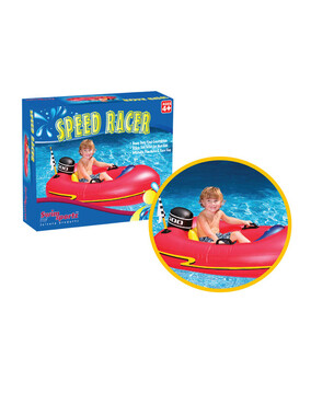 SwimSportz Speed Racer Rider Swimming Pool Toy / Float - 120cm