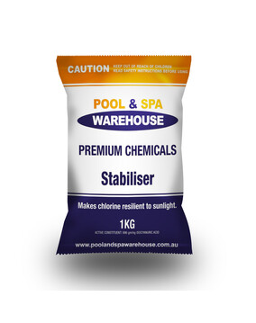 Premium Pool Stabiliser / UV Blockout / Sunscreen 1kg - Pool Chemical