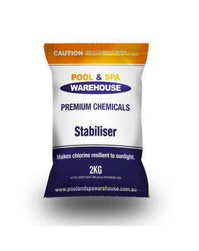 Premium Pool Stabiliser / UV Blockout / Sunscreen 2kg - Pool Chemical