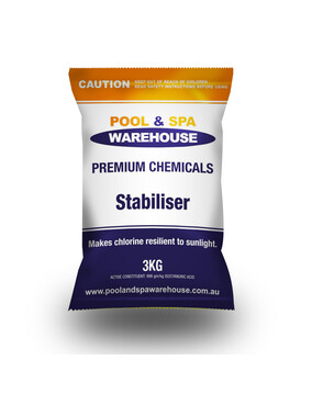 Premium Pool Stabiliser / UV Blockout / Sunscreen 3kg - Pool Chemical