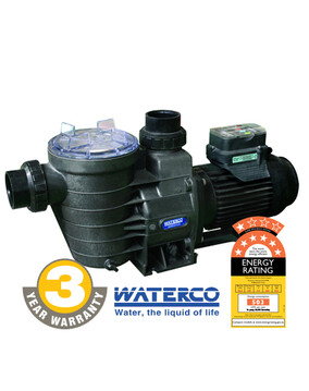 Waterco Supatuf ECO 3 Speed Energy Efficient Pool Pump, 7 Star Rated