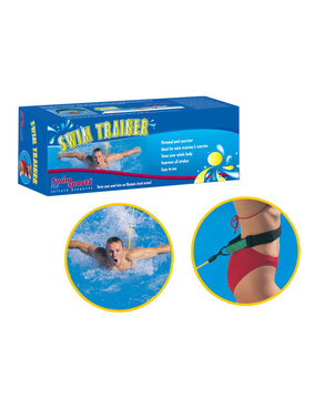 Swimsportz Swim Trainer Static Swim Belt - Personal Pool Excersicer