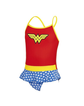Zoggs Wonderwoman Swimdress (2-6 Years)