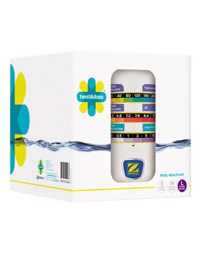 Zodiac Twist & Doze Pool Test Kit (Chlorine, pH, Alkalinity)