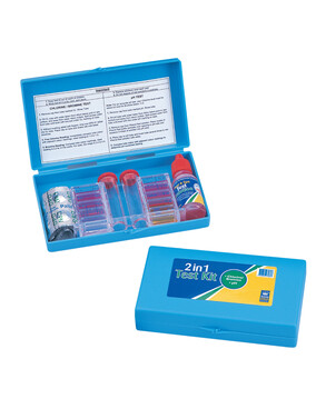 AussieGold 2 in 1 Test Kit for Swimming Pools (Chlorine / pH)