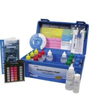 Taylor Complete Pool & Spa Test Kit - High Range K-2005C - DPD