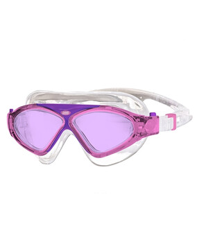 Zoggs Tri-Vision Junior Mask Pink Goggles Suitable for 6-14 Yrs