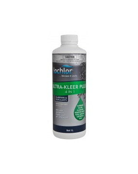 Lo-Chlor Ultra Kleer Plus 4 in 1 Clarifier 1L - Pool Chemical