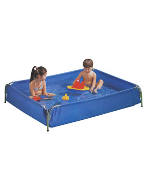 Aquafun Metal Frame Wading Pool - 152 x 122 x 25 cm