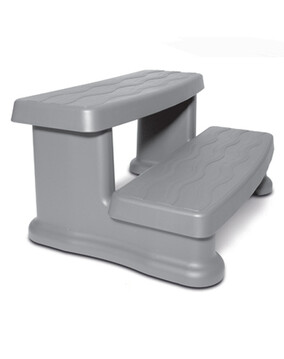 Spa Side Step Warm Grey MSS030 - Spa Accessories