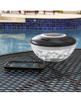 G.A.M.E Floating Bluetooth Speaker & Light Show for iPhone & Android - Wireless, Rechargeable & Waterproof