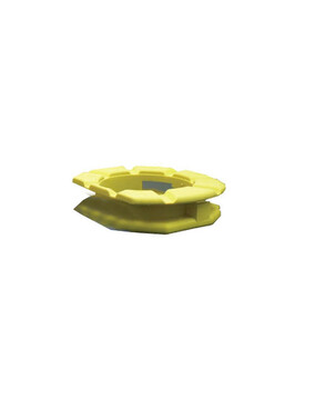 Avenger Yellow Foot Pad for Fiberglass - Pool Cleaner Spare Part