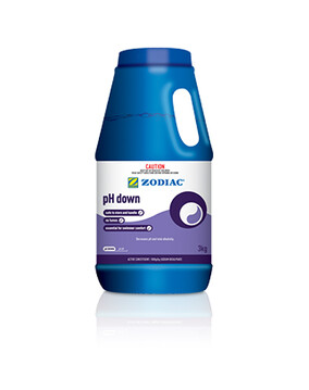 Zodiac PH Down 3kg - Decreases pH and Total Alkalinity - Swimming Pool Chemical
