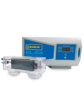 Zodiac EL-24 Pool Chlorinator. 24gr/h. 2Y Warranty. Reverse Polarity