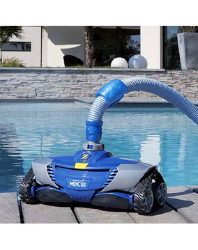 Zodiac MX8 MK2 Pool Cleaner with X-Drive Navigation - Above & In Ground - Wall Climber