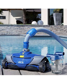 Zodiac MX8 MK2 Pool Cleaner with 12m hose & Zodiac Cyclonic Leaf Catcher