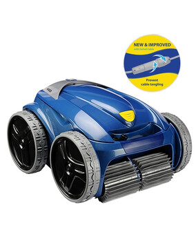 Zodiac Vortex-Pro VX55 4WD Robotic Pool Cleaner + swivel with Kinetic Remote, 7-Day Timer, e-Box & Caddy - 3Y Warranty