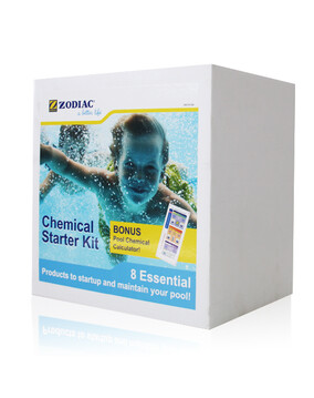 Zodiac Pool Chemical Starter Kit - 8 Essential Products To Startup and Maintain Your Pool