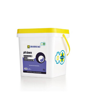 Zodiac pH Down Twist & Dose 6kg - BUCKET Pool Chemical