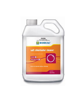 Zodiac Salt Chlorinator Cleaner 5L - Pool Chemical (DG)