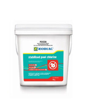 Zodiac Stabilised Pool Chlorine 4Kg - Pool Chemical