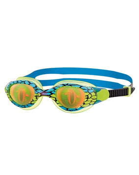 Zoggs Sea Demon Blue Junior Goggles Suitable for Ages 6-14 Year Olds