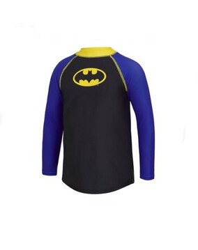 Zoggs Batman Long Sleeve Sun Top (2-6 Years)